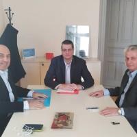 Συνάντηση Δημάρχου Ναυπακτίας με τον Πρόεδρο του Πράσινου Ταμείου